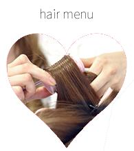 hair menu